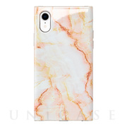 【アウトレット】【iPhoneXR ケース】Maelys Collections Marble for iPhoneXR (Pink)