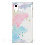 【アウトレット】【iPhoneXR ケース】Louna Collections watercolor for iPhoneXR (pale)