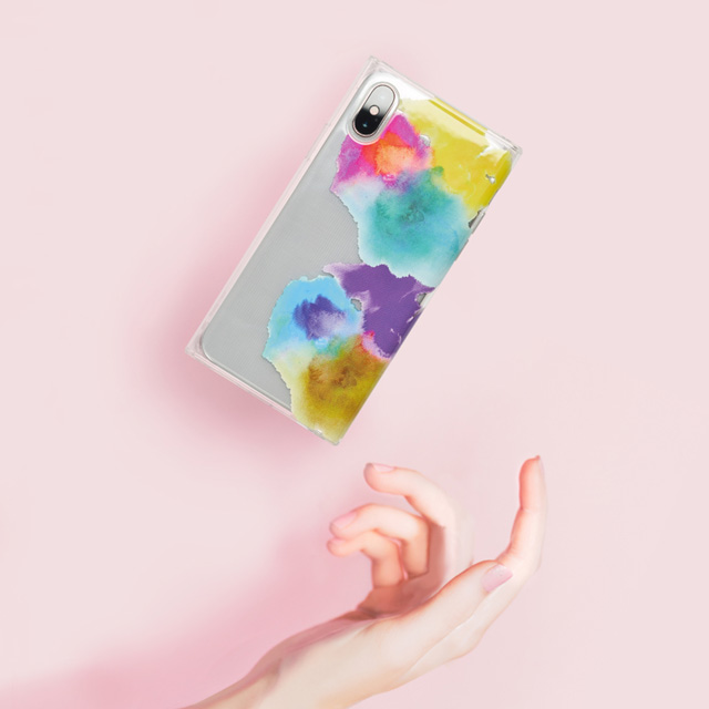 【アウトレット】【iPhoneXR ケース】Louna Collections watercolor for iPhoneXR (vivid)サブ画像