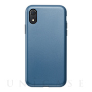 【アウトレット】【iPhoneXR ケース】Smooth Touch Hybrid Case for iPhoneXR (Azure Blue)