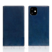 【iPhone11 ケース】Tamponata Leather case (Blue)