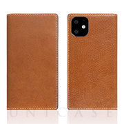【iPhone11 ケース】Tamponata Leather case (Tan)