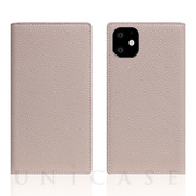 【iPhone11 ケース】Full Grain Leather Case (Light Cream)