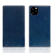 【iPhone11 Pro Max ケース】Tamponata Leather case (Blue)