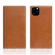 【iPhone11 Pro Max ケース】Tamponata Leather case (Tan)