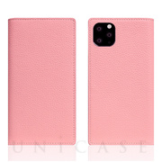 【iPhone11 Pro Max ケース】Full Grain Leather Case (Light Rose)