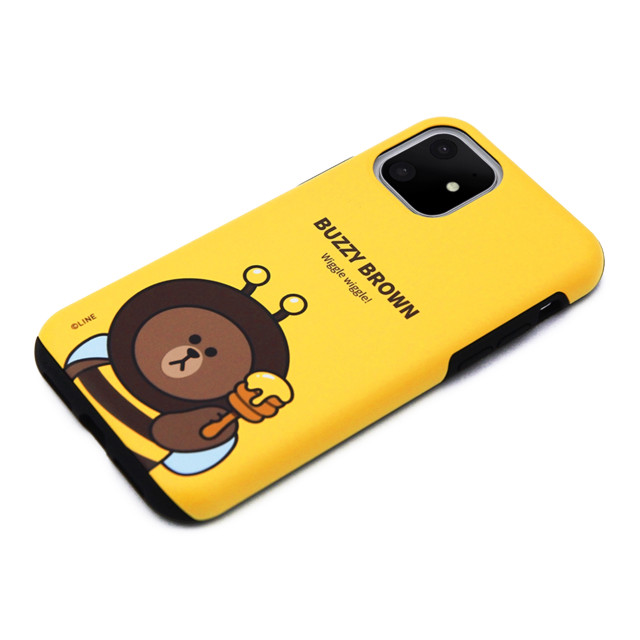【iPhone11 ケース】DUAL GUARD JUNGLE BROWN (BUZZY BROWN)サブ画像