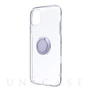 【iPhone11 ケース】CLEAR RING (シルバー)
