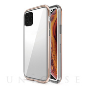 【iPhone11 Pro ケース】INFINITY CLEAR CASE (Gold)