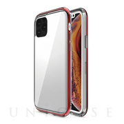 【iPhone11 Pro ケース】INFINITY CLEAR CASE (Red)