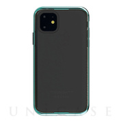 【iPhone11 ケース】INFINITY CLEAR CASE (Emerald)