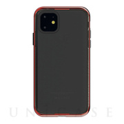 【iPhone11 ケース】INFINITY CLEAR CASE (Red)
