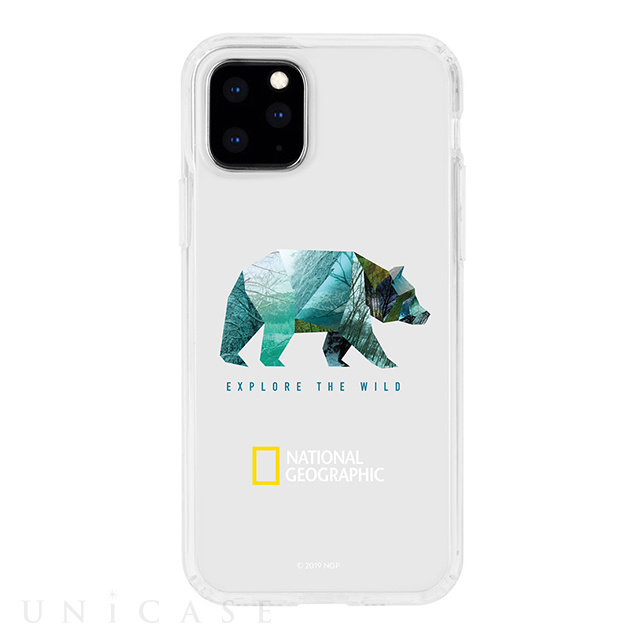 【iPhone11 Pro ケース】INTO THE WILD Jelly Hard Case (Bear)