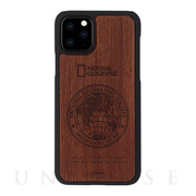 【iPhone11 Pro ケース】Global Seal Nature Wood (ローズウッド)