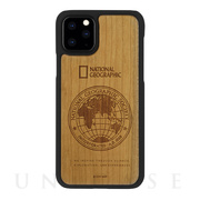 【iPhone11 Pro Max ケース】Global Seal Nature Wood (チェリーウッド)