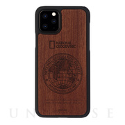 【iPhone11 Pro Max ケース】Global Seal Nature Wood (ローズウッド)