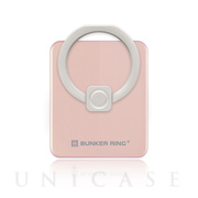 BUNKER RING Edge (Blush Gold)