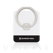 BUNKER RING Edge (White/Black)