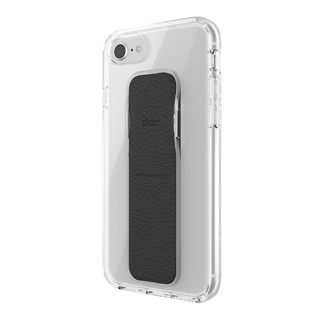 【iPhone8/7/6s/6 ケース】CLEAR GRIPCASE FOUNDATION (CLEAR/BLACK)サブ画像