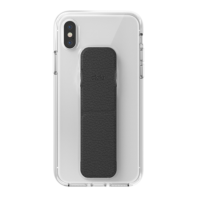 【iPhoneXS/X ケース】CLEAR GRIPCASE FOUNDATION (CLEAR/BLACK)サブ画像