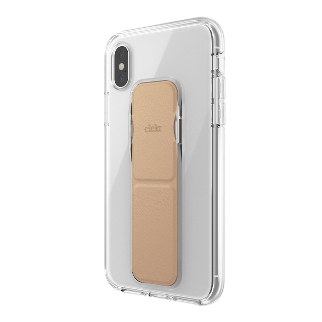 【iPhoneXS/X ケース】clckr CLEAR GRIPCASE FOUNDATION (CLEAR/ROSE GOLD)サブ画像