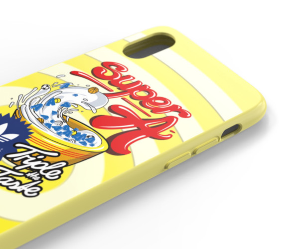 【iPhoneXS/X ケース】Moulded Case BODEGA FW19 (Shock Yellow)
