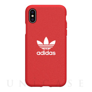 【iPhoneXS/X ケース】adicolor Moulded Case (Scarlet)