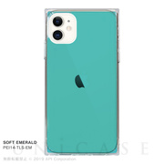 【iPhone11 ケース】TILE SOFT (EMERALD)