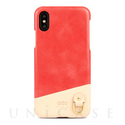 【iPhoneXS/X ケース】Anello (Coral)