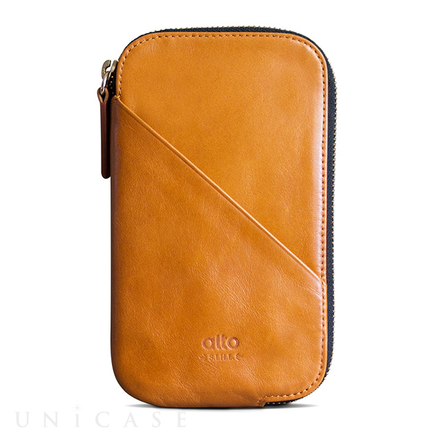 Travel Phone Wallet (Caramel)