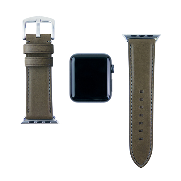 【AppleWatch Series5/4/3/2/1(44/42mm) バンド】Apple Watch band (Olive)サブ画像
