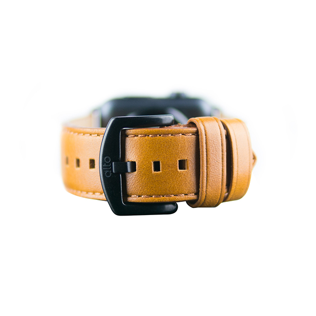 【AppleWatch Series5/4/3/2/1(44/42mm) バンド】Apple Watch band (Caramel)サブ画像
