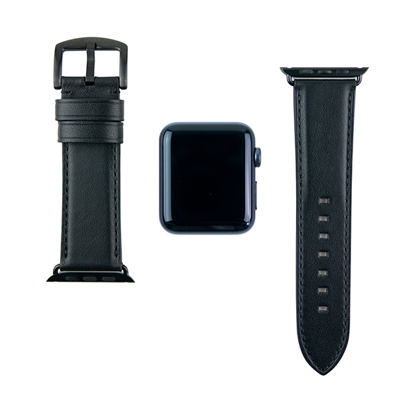 【AppleWatch Series5/4/3/2/1(44/42mm) バンド】Apple Watch band (Raven)