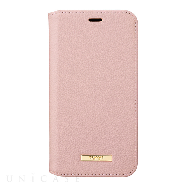 "【iPhoneXS/X ケース】""Shrink"" PU Leather Book Case (Pink)"