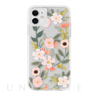 【iPhone11/XR ケース】RIFLE PAPER × Case-Mate (Wild Flowers)