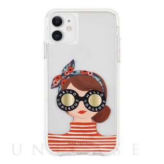 【iPhone11/XR ケース】RIFLE PAPER × Case-Mate (Gorgeous Girl)
