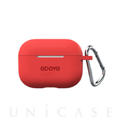 【AirPods Pro ケース】Soft Coat (Red)