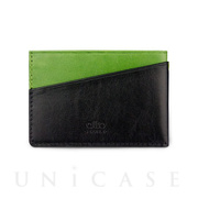 Slim Card Holder (Lemon / Raven)
