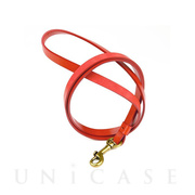 Leather Neck Strap (Coral)