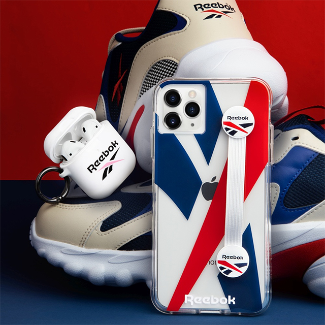 【AirPods ケース】Reebok × Case-Mate (White Vector 2020)