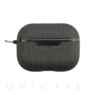 【AirPods Pro ケース】AirPods Pro Texture Case(fabric-black)