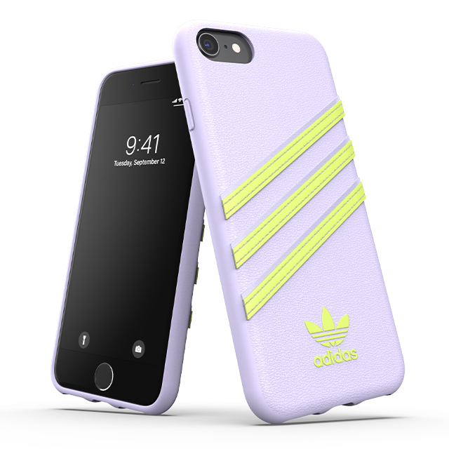 【iPhoneSE(第2世代)/8/7/6s/6 ケース】Moulded Case SAMBA SS20 (Purple tint/Hi-res yellow)