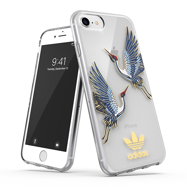 【iPhoneSE(第2世代)/8/7/6s/6 ケース】Clear Case CNY (Collegiate royal/Gold met)サブ画像