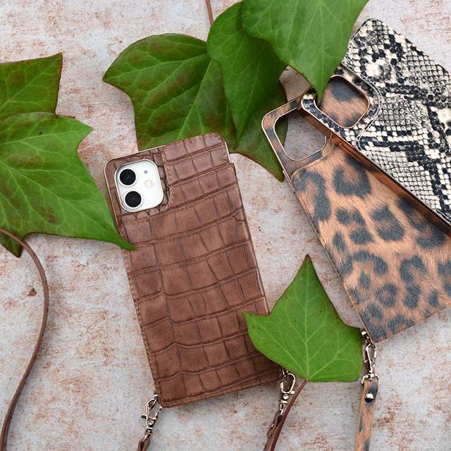 【iPhone11/XR ケース】Cross Body Case Animal Series for iPhone11(python)サブ画像