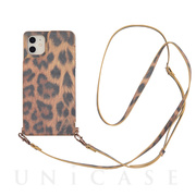 【iPhone11/XR ケース】Cross Body Case Animal Series for iPhone11(leopard)