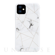 【iPhone11 ケース】WHITE MARBLE (AVANI WHITE COPPER)