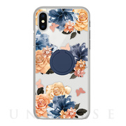 【iPhoneXS/X ケース】CASE RING FLORALS (SABRINA)