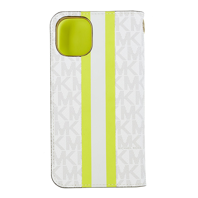 【iPhone11 Pro ケース】Folio Case Lime Stripe with Charmサブ画像