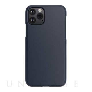【iPhone11 Pro ケース】LINKASE TRUE-LEATHER  (ネイビー)