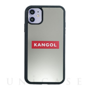 【iPhone11/XR ケース】KANGOL MIRROR BOX LOGO (RED)